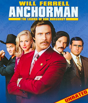 ANCHORMAN:LEGEND OF RON BURGUNDY BY FERRELL,WILL (Blu-Ray)